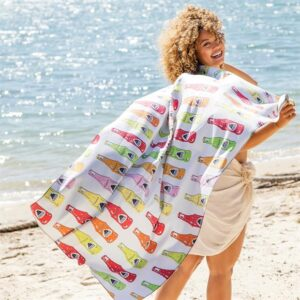 Sublimated Quick Dry Sand Proof Beach Towel