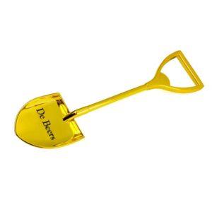 METAL SHOVEL BOTTLE OPENER (GOLD)