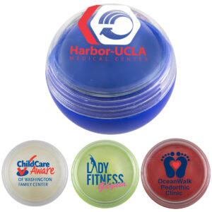 'Cora' Vanilla Clear Cover Scented Lip Moisturizer Ball